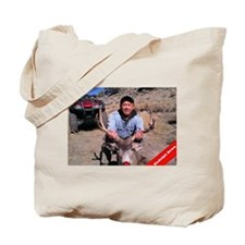 Rudolph Down Tote Bag