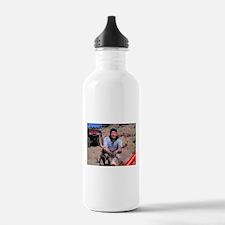 Rudolph Down Water Bottle