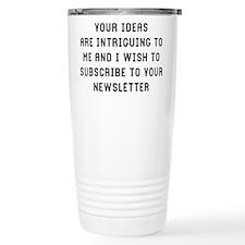 Your Ideas Thermos Mug