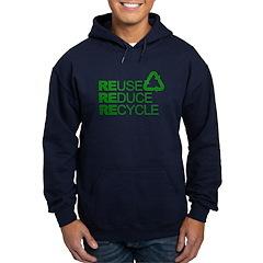Reduce Reuse Reycle Hoodie