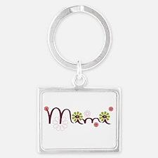 Mimi Flowers Landscape Keychain