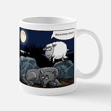 weresheep cartoon Mug