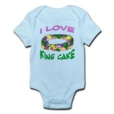 kingcakelovetran.png Infant Bodysuit
