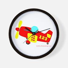 Wee Plane! Wall Clock