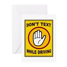 DON'T TEXT AND DRIVE Greeting Cards (Pk of 20)