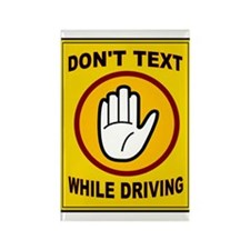 DON'T TEXT AND DRIVE Rectangle Magnet (10 pack)