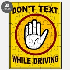 DON'T TEXT AND DRIVE Puzzle