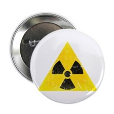 "Vintage Radioactive 2.25"" Button"