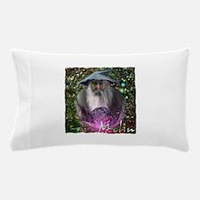 merlin the magician art illustration Pillow Case