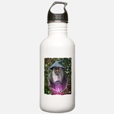 merlin the magician art illustration Water Bottle