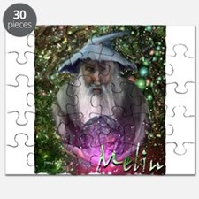 merlin the magician art illustration Puzzle