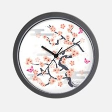 Cute Asian design Wall Clock