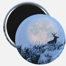 "Buck deer moon 2.25"" Magnet (100 pack)"