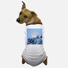 Buck deer moon Dog T-Shirt