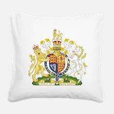 Royal COA of UK Square Canvas Pillow