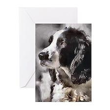 English Sp;ringer Spaniel Greeting Cards (Pk of 10