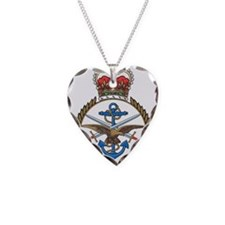 MoD emblem UK Necklace Heart Charm