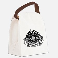 Arapahoe Basin Mountain Emblem Canvas Lunch Bag