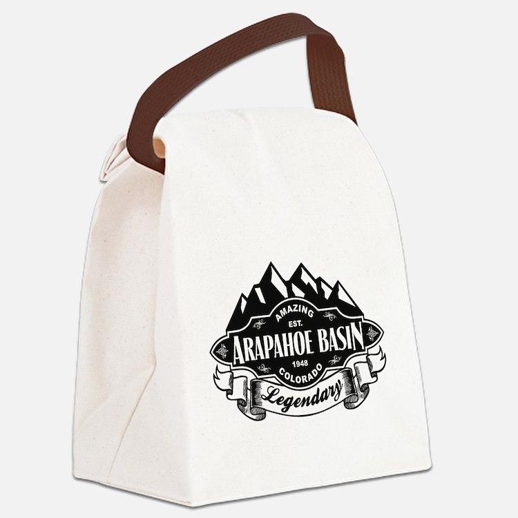 Arapahoe Basin Mountain Emblem Canvas Lunch Bag