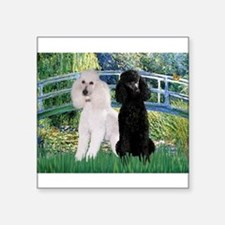 Bridge & Poodle Pair Sticker