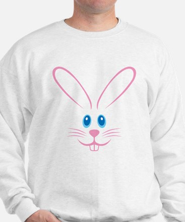 Pink Bunny Face Jumper