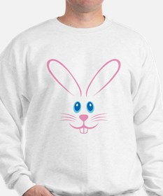 Pink Bunny Face Sweater