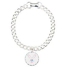 Pink Bunny Face Bracelet