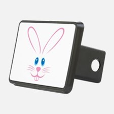Pink Bunny Face Hitch Cover