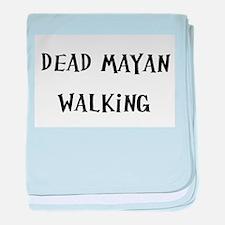 Dead Man Walking (nd) baby blanket