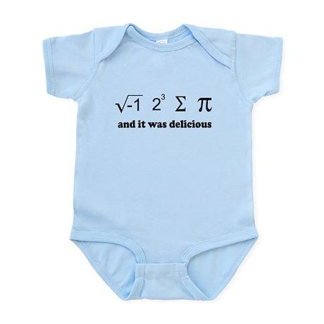 i eight sum pi Infant Bodysuit