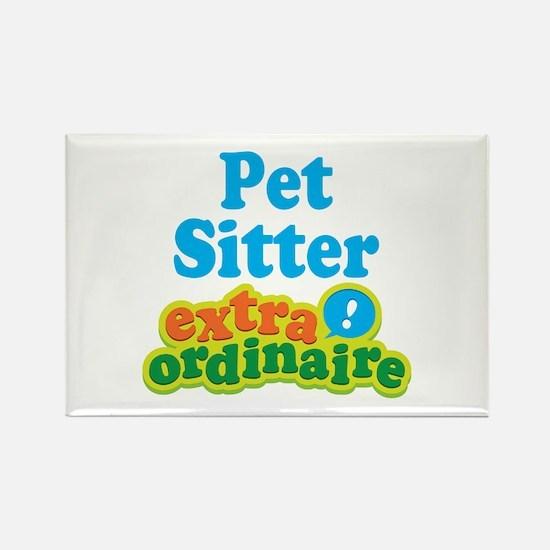 Pet Sitter Extraordinaire Rectangle Magnet