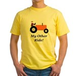 My Other Ride Orange Yellow T-Shirt