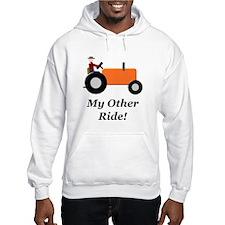 My Other Ride Orange Hoodie