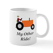 My Other Ride Orange Mug
