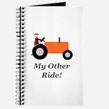 My Other Ride Orange Journal