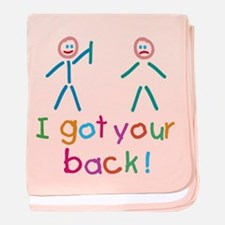 I Got Your Back Fun baby blanket