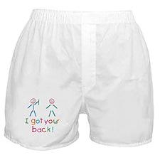 I Got Your Back Fun Boxer Shorts