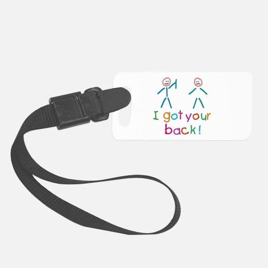 I Got Your Back Fun Luggage Tag