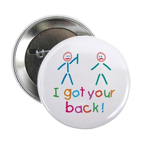 "I Got Your Back Fun 2.25"" Button"
