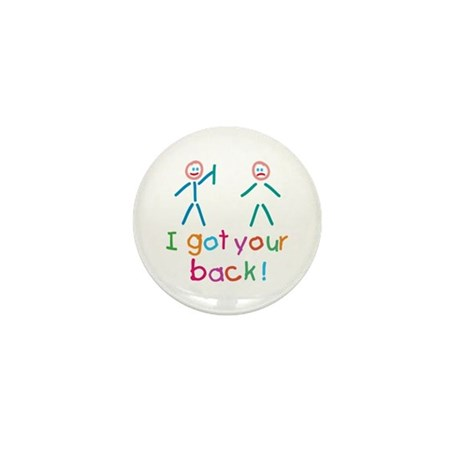 I Got Your Back Fun Mini Button