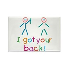 I Got Your Back Fun Rectangle Magnet