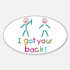 I Got Your Back Fun Decal