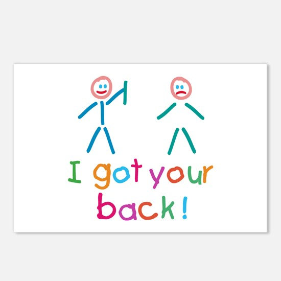 I Got Your Back Fun Postcards (Package of 8)