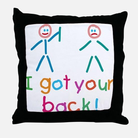 I Got Your Back Fun Throw Pillow