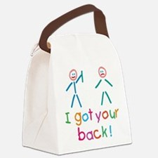 I Got Your Back Fun Canvas Lunch Bag