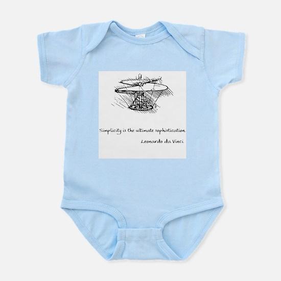 vinci_helico_cita_2000.png Infant Bodysuit
