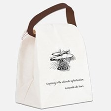 vinci_helico_cita_2000.png Canvas Lunch Bag