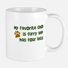 My favorite child furry four legs Mug
