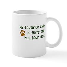 My favorite child furry four legs Mug
