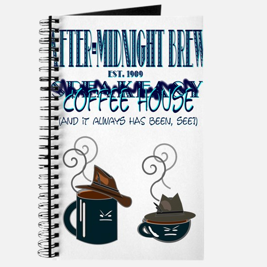 After Midnight Brew Speakeasy Journal